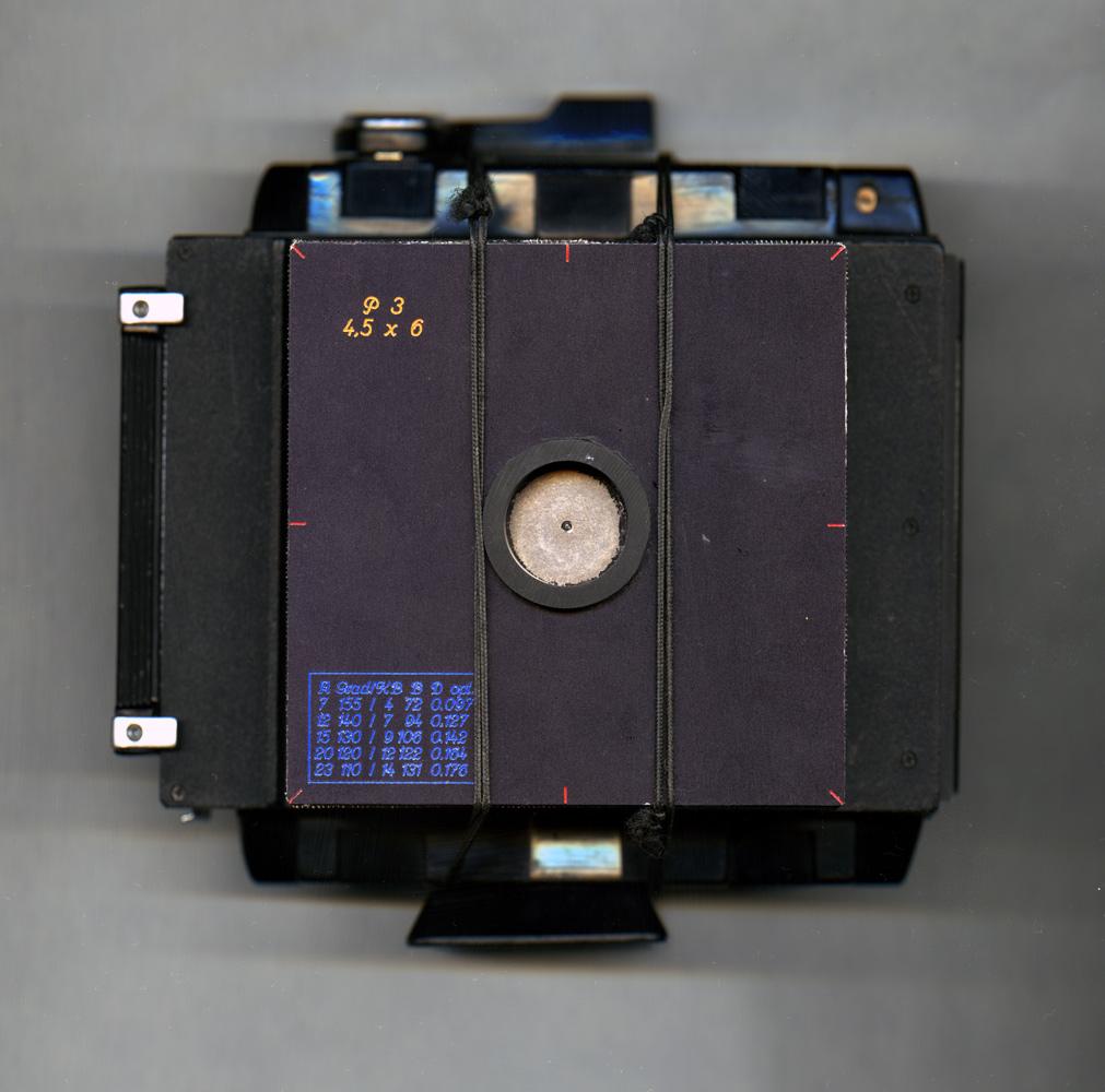 P3, Lochkamera für Rollfilm 6x6